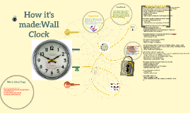 Copy of How it's made: Wall Clock