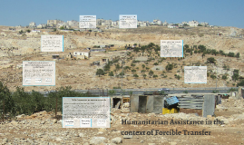 Copy of Humanitarian Assistance in the Context of Forcible Transfer