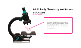 02.01 Early Chemistry and Atomic Structure