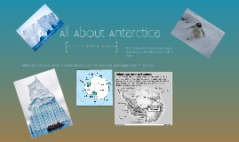 Copy of All About Antarctica