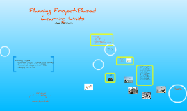 Planning PBL's