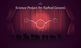 Science Project By: Farbod Gerami