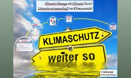Literaturwissenschaft im Klimawandel