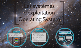 Les systèmes d'eploitation Operating System