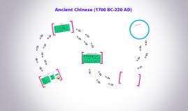 Ancient Chinese (1700 BC-220 AD)