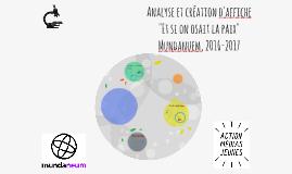 Analyse et création d'affiche