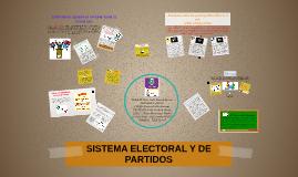SISTEMA ELECTORAL Y DE PARTIDOS