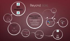 Beyond 2015 evaluation - interactive presentation 23 Feb 2016