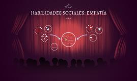 Copy of HABILIDADES SOCIALES: EMPATIA
