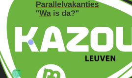 Parallelvakanties - What's in the word?