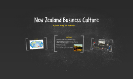 New Zealand Business Culture
