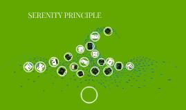 SERENITY PRINCIPLE
