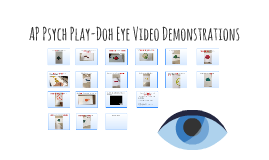 Play-Doh Eye Video Demonstrations