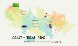 COACH - IDEATION TREND IDEAS