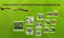 CONCEPTOS Y CONSRUCCIONES      GEOMERICAS