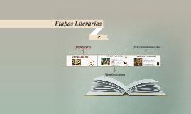 Etapas Literarias