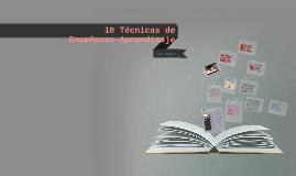 Copy of 10 Técnicas de Enseñanza-Aprendizaje para Adultos