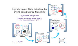 An asynchronous Data Interface for Event-based Stereo Matching