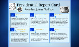 Presidential Report Card