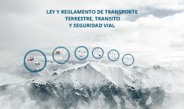 LEY DE TRNASITO