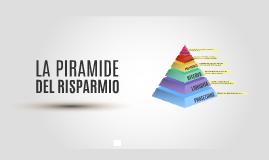 La piramide del risparmio