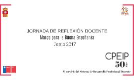 JORNADA DE REFLEXIÓN DOCENTE