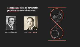 El Partido de la Revolución Mexicana (PRM) postulo como cand