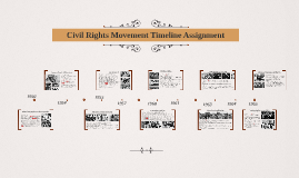 Civil Rights Movement Timeline Assignment