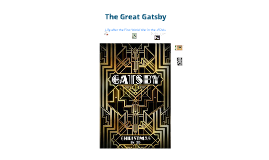 Copy of The Great Gatsby and WWI