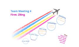 Z9ing team meeting 4