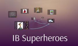 IB Superhero
