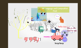 AP Language and Composition Prezi
