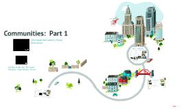 Unit 1:   Part 1 Rural, Suburban, and Urban Communities