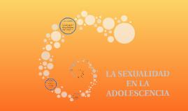 Sexualidad en la adolescencia.