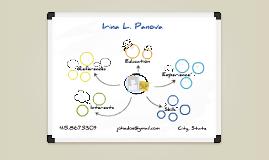 White Board Prezumé by Irina Panova