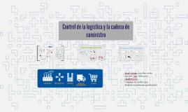 Control de la logística y de la cadena de suministro
