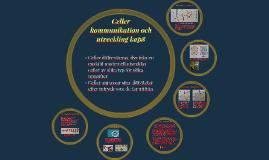 Celler kommunikation och utveckling kap8