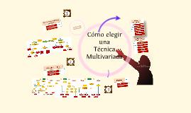 Técnicas multivariadas 2