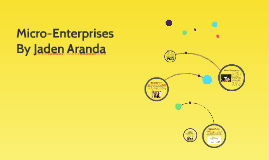 Micro-Enterprises