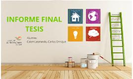 Presentacion Informe Final Tesis Carlos Colan