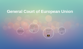 General Court of European Union