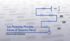Las Personas Morales frente al Derecho Penal
