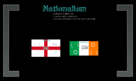 Nationalism in England and Ireland!