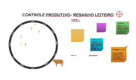 CONTROLE PRODUTIVO- REBANHO LEITEIRO