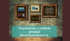 Presentación y cuidado personal SINAX