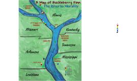 A Map of Huckleberry Finn