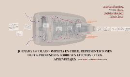 JORNADA ESCOLAR COMPLETA EN CHILE. REPRESENTACIONES DE LOS P