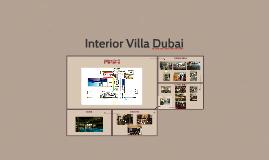 Interior Villa Dubai