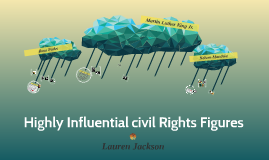 Highly Influential civil Rights Figures