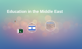 Education in the Middle East